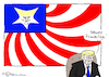 Cartoon: Neues USA-Logo (small) by Pfohlmann tagged karikatur,cartoon,2017,color,farbe,usa,global,trump,präsident,flagge,stars,and,stripes,firmenlogo,logo,neu,geschäftsmann,deals,dekrete,chef,firmenchef,firmeninhaber,ceo