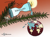 Cartoon: Wikiwachs (small) by Pfohlmann tagged wikileaks,weihnachten,globus,welt,weltkugel,christbaum,weihnachtsbaum,logo,kerze,tanne,tannenbaum