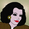 Cartoon: Coco Chanel (small) by NITA tagged fashion