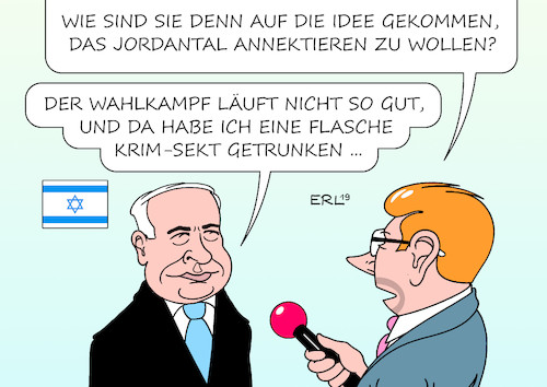 Cartoon: Netanjahu (medium) by Erl tagged politik,israel,ministerpräsident,benjamin,netanjahu,wahlkampf,versprechen,wahlsieg,annexion,jordantal,palästina,palästinenser,nahost,konflikt,nahostkonflikt,vorbild,krim,russland,wladimir,putin,karikatur,erl,politik,israel,ministerpräsident,benjamin,netanjahu,wahlkampf,versprechen,wahlsieg,annexion,jordantal,palästina,palästinenser,nahost,konflikt,nahostkonflikt,vorbild,krim,russland,wladimir,putin,karikatur,erl