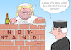 Cartoon: Trump Notstand (small) by Erl tagged politik,usa,präsident,donald,trump,wahlversprechen,bau,mauer,grenze,mexiko,finanzierung,haushalt,kongress,demokraten,kompromiss,ausrufung,notstand,grundlos,klage,sammelklage,us,staaten,richter,gericht,maurer,karikatur,erl