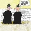 Cartoon: Congratulations Congregations (small) by EASTERBY tagged catholic church priests toilets