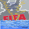 Cartoon: FIFA sinking into a stormy sea (small) by EASTERBY tagged fifa bribery corruption