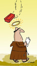 Cartoon: HOLY ORDERS 9 (small) by EASTERBY tagged monks halos faith believing accidents