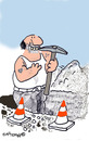 Cartoon: Road Signs 11 (small) by EASTERBY tagged road works signs