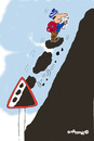 Cartoon: Road Signs 5 (small) by EASTERBY tagged road,works,signs