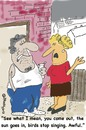 Cartoon: Sunny Day (small) by EASTERBY tagged husband wife