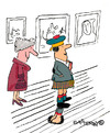 Cartoon: Under Macs Kilt (small) by EASTERBY tagged scotsmen kilts