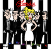 Cartoon: Blondie (small) by Munguia tagged blondie,pepita,comic,strip,parallel,lines,70s,album,cover,parodies