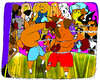 Cartoon: boxers (small) by Munguia tagged dogs,box,boxers,fight,perro,pelea