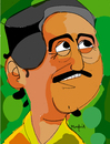 Cartoon: Chico Mendes (small) by Munguia tagged chico,mendes,amazonas,brasil,brazil,river,rio