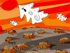 Cartoon: Ghost Hills (small) by Munguia tagged forrest,wood,tree,ghost,pine,pino,arbol,desforestal