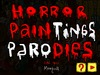Cartoon: Horror Paintings Parodies Test (small) by Munguia tagged video,game,online,flash,test,abc,famous,paintings,parodies,classical,art,spoof
