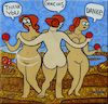 Cartoon: Las tres gracias (small) by Munguia tagged the,three,graces,rafael,raphael,tres,gracias,greatful,apple,women,sorosidad,female