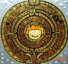 Cartoon: Maya Maya Calendar (small) by Munguia tagged mayan,maya,bee,abeja,calendario
