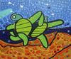 Cartoon: Turtles on the beach (small) by Munguia tagged turtle,picasso,beach,walk,run,running,dance,dancing,summer,munguia,parodie,famous,paintings,parody