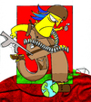 Cartoon: WarBall (small) by Munguia tagged war,soldier,soccer,futball,sport,kill,killer,death,world