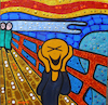 Cartoon: XD (small) by Munguia tagged el,grito,scream,munch,edvard,lol