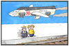 Cartoon: Bahnpreise (small) by Kostas Koufogiorgos tagged karikatur,koufogiorgos,illustration,cartoon,bahnpreise,verkehr,mobilität,kosten,geld