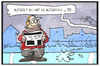 Cartoon: Blitzeis (small) by Kostas Koufogiorgos tagged karikatur,koufogiorgos,illustration,cartoon,blitzeis,wetter,winter,ausrutschen