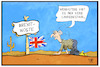 Cartoon: Brexit-Abstimmung (small) by Kostas Koufogiorgos tagged karikatur,koufogiorgos,illustration,cartoon,brexit,deal,may,uk,grossbritannien,abstimmung,wüste,lawine,dürre,wetter,eu,austritt,europa