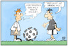 Cartoon: Geisterspiele (small) by Kostas Koufogiorgos tagged karikatur,koufogiorgos,illustration,cartoon,geiserspiel,fussball,corona,ball,covid19,sport,lockdown