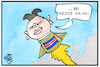 Cartoon: Nordkorea (small) by Kostas Koufogiorgos tagged karikatur,koufogiorgos,illustration,cartoon,nordkorea,rakete,test,kim,jong,un,konflikt,militär,nuklear
