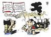Cartoon: Roadmap (small) by Kostas Koufogiorgos tagged syrien,auto,bombe,anschlag,assad,road,map,waffenruhe,nahost,terrorismus,politik,krieg,konflikt,karikatur,kostas,koufogiorgos