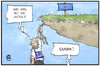 Cartoon: Sambia-Option (small) by Kostas Koufogiorgos tagged karikatur,koufogiorgos,cartoon,illustration,sambia,option,griechenland,abhang,eu,europa,absturz,wirtschaft,politik,krise,iwf