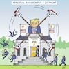 Cartoon: Personalmanagement a la Trump (small) by JotKa tagged donald,trump,rex,tillerson,weisses,haus,white,minister,personal,entlassungen,hire,and,fire,washington,president,of,the,united,states