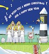 Cartoon: Seasons Greetings (small) by JotKa tagged weihnachten christmas xmas neujahr new year feiertage holidays