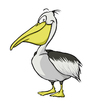 Cartoon: pelican (small) by grega tagged animals,nature,wildlife