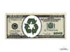 Cartoon: GREEN ECONOMY (small) by CIGDEM DEMIR tagged green,economy,tree,money,usa,dolar,financal