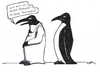 Cartoon: Dresscode (small) by bertgronewold tagged pinguin,kleidung,dresscode