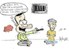 Cartoon: KurdishHungerStrikeday52 (small) by quzekere tagged kerdogan