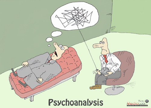 Cartoon: Psychoanalysis (medium) by Vahe tagged psychiatry,doctor,psychology