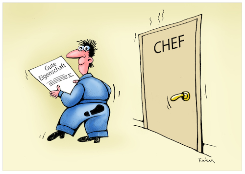 Cartoon: Chef (medium) by kurtu tagged chef,chef