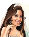 Cartoon: Wedding (small) by Amal Samir tagged lady,women,bride,happy,cartoon,illustrator,drawings,digital,art