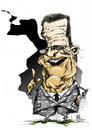 Cartoon: don fabio (small) by cakBOY tagged fabio capello england caricature