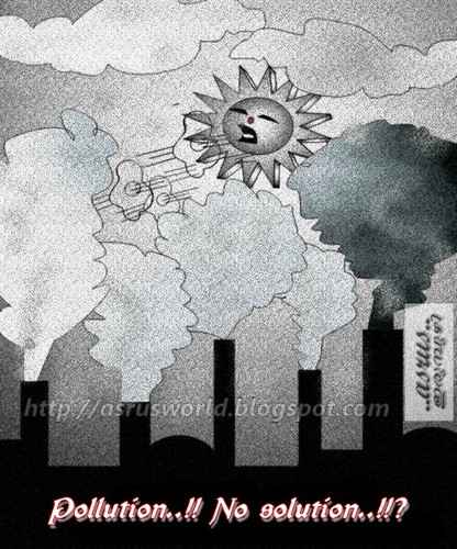 Cartoon: Pollution..!! (medium) by asrus tagged asrusworld