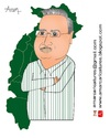 Cartoon: Raman Singh Caricature (small) by Amar cartoonist tagged raman,singh,caricature,chhattisgarh