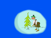 Cartoon: Meery Christmas (small) by paraistvan tagged christmas,scotch