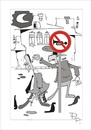 Cartoon: Traffic sign (small) by paraistvan tagged traffic,sign,cop,trumpet