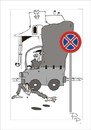Cartoon: Traffic sign (small) by paraistvan tagged traffic,sign,on,there