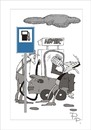 Cartoon: Traffic sign misunderstanding (small) by paraistvan tagged traffic,sign,gas,station,beer,drink,refuel