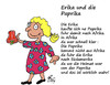Cartoon: Erika mit Paprika (small) by Marbez tagged erika,paprika,südamerika