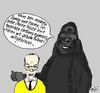 Cartoon: Grizmeks Tierleben (small) by Marbez tagged herren,pullover,gelb