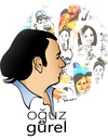Cartoon: Oguz Gurel (small) by semra akbulut tagged oguz,gürel,semra,akbulut