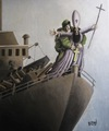 Cartoon: Titanic (small) by Burak Ergin tagged titanic