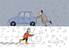 Cartoon: Joy of Winter (small) by Jura Karikatura tagged jurakarikatura,kresimir,kvestek,joy,of,winter
